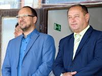 05 Štefan Gregor, Ipolyság polgármestere és Karel Pačiska, Bystřice nad Pernštejnem polgármestere.JPG