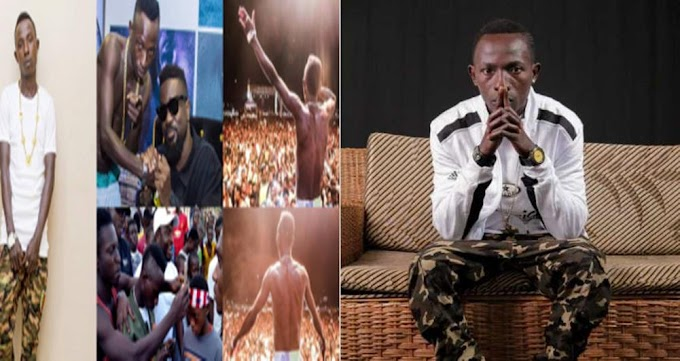 Singer Of Viral Hit Song 'One Corner' Patapaa Has Just Been Paid His First Show