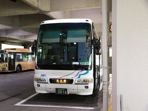 名鉄バス「名古屋~新潟線」 2801 新潟万代シティBC改札中