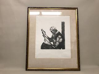 Signed Lithograph Portrait