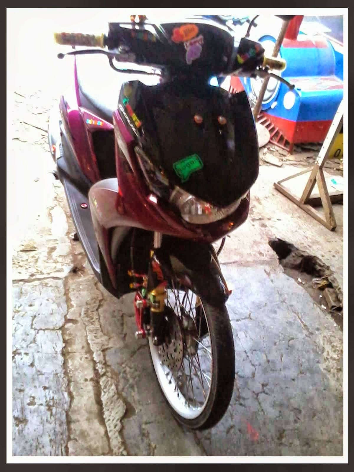 Modifikasi Mio Soul Gt New