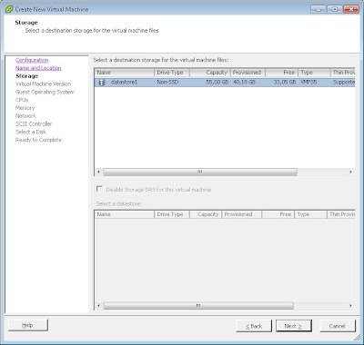Crear máquina virtual en VMware ESXi con VMware vSphere Client