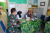 Aktif Selalu Pantau Situasi Wilayah, Babinsa Terus melaksanakan Pendataan Virus Covid 19