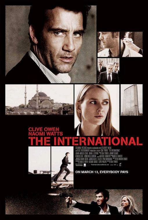 Poster Of The International (2009) Full Movie Hindi Dubbed Free Download Watch Online At Alldownloads4u.Com