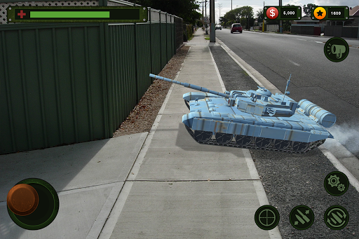 RC Tank Remote Control Sim AR. 0.1 screenshots 7