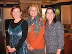 Gina Mitchell, K.C. Weigel and Rhonda Planchet.