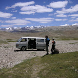 Entre Jawshangoz et Jelondy, Pamir méridional, Tadjikistan, 19 juillet 2007. Photo : F. Michel