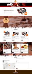 Website design és arculattervezés a Chocopoint Kft.-nek.