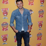 OIC - ENTSIMAGES.COM - Mark Wright at the M & M  party to celebrate a spoof election of its confectionary characters.  M&M's World, Leicester Square, London, 14th April 2015   Photo Mobis Photos/OIC 0203 174 1069