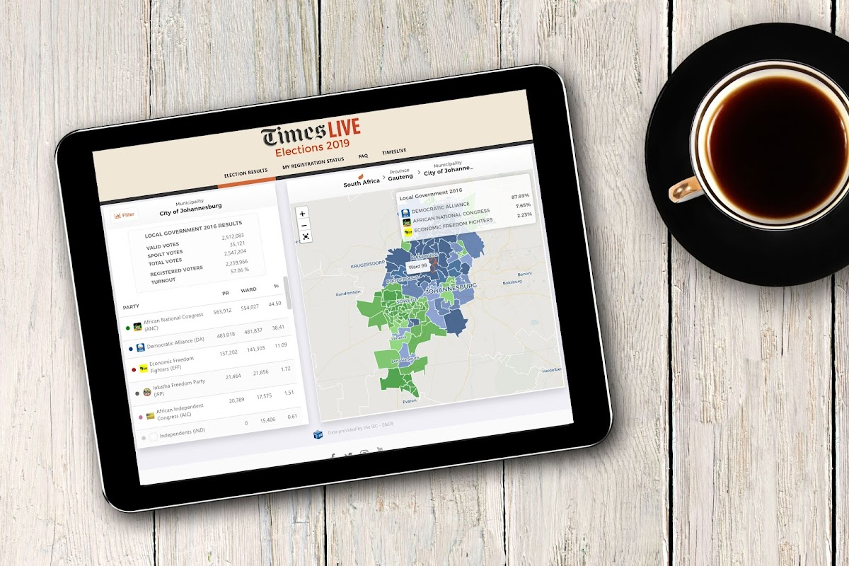 LIVE RESULTS | Get real-time data and notifications on our elections