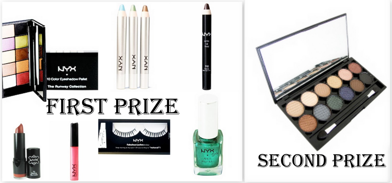 NYX & Sleek makeup Giveaway
