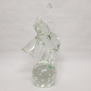 Licio Zanetti Signed Murano Glass Elephant