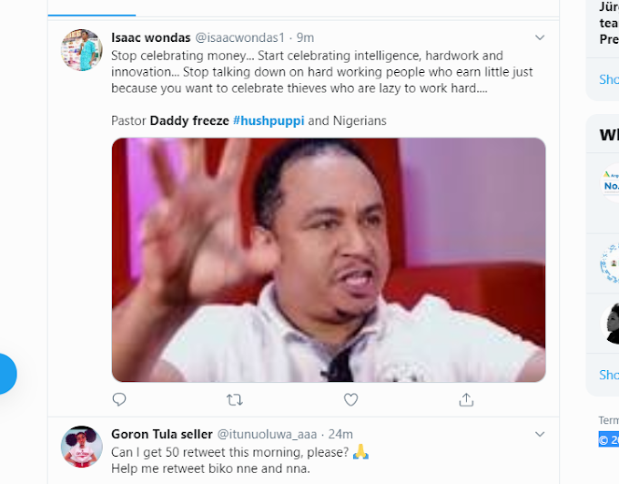 Trending: What I Will Tell You Will Make You Drink Sniper - Daddy Freeze -(video)
