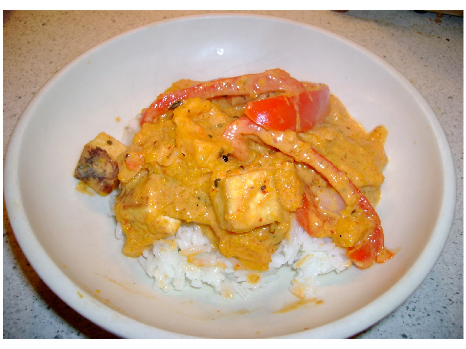Three Variations: Butternut Squash: Red Curry with Squash and Tofu