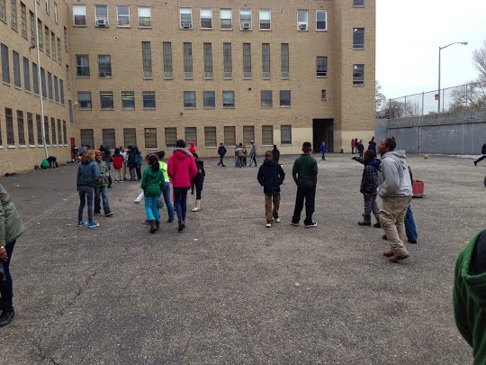A Portion Of The Former Bishop Ford High School Is Now A Welcoming Pre K  Center, K280, Affiliated With PS 10.