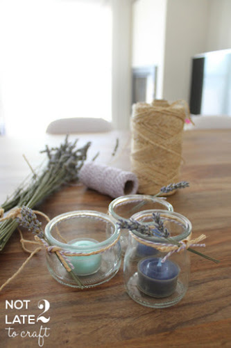 Not 2 late to craft: Reutilitzant pots de iogurt / Reusing glass yogurt containers