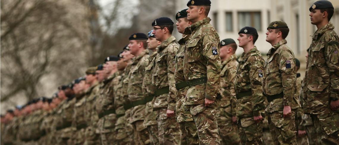 British Army uses AI technology to conduct live-fire drills