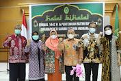 Tingkatkan Tali Silaturahmi, Dharmayukti Karini Cabang Indramayu Laksanakan Halal Bihalal