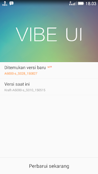 Cara Instal Update Ota Lollipop resmi Lenovo A6000 plus