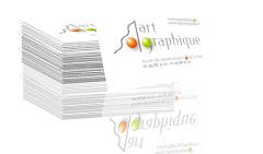 présentation stylisée carte de visite Art Graphique