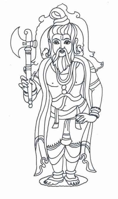 Lord Parashurama, Gods And Goddesses 6