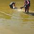 Lapa: bombeiros localizam e resgatam o corpo de um homem que se afogou no Rio São Francisco