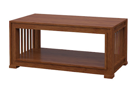 Hillside Coffee Table in Old Master Quarter Sawn Oak