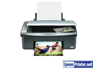 How to reset Epson CX4200 printer