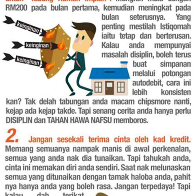 Bagaimana nak miliki rumah pertama anda ( Dengan kerjasama Mega 3 Housing ) ?