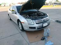 Cambio de aceite coche