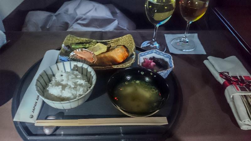 JL%252520LAX NRT 109 - REVIEW - JAL : First Class- Los Angeles to Tokyo Narita (B77W)
