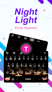 Night Light Theme&Emoji Keyboard - náhled