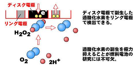 燃料電池の研究への応用