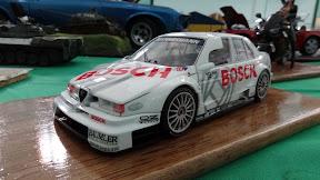 1:18 Alfa Romeo race car
