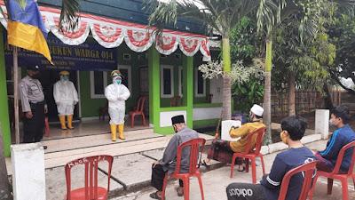 Dugaan Satu Keluarga di Perumahan Griya Nugratama (Pasir Hayam) Terkena Corona