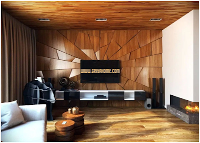 Pilihlah tekstur yang unik untuk wallpaper rumah istimewa Anda