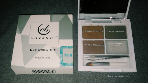 Unboxing the Eyebrow kit from Ever Bilena