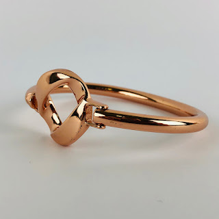 Marc by Marc Jacobs Rose Gold-Toned Bangle