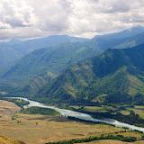 La rivière Katun dans l'Altai, juillet 2008. Photo : Psamtik