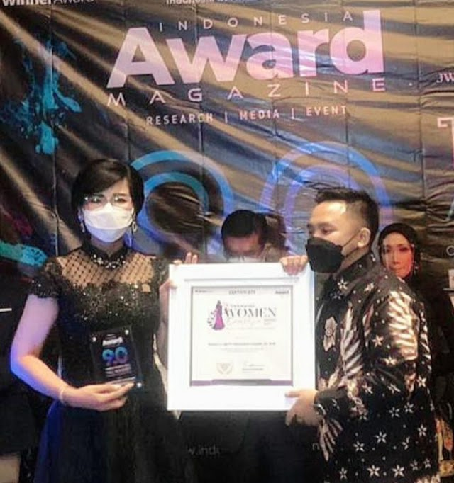 "8 Langkah Kompol Dr (C) Netty Rosdiana Siagian Penerima ""INDONESIA WOMEN EXCELLENCE AWARD 2021"""