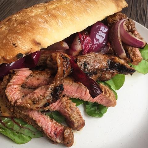 Deep South 'Bourbon Shot' Steak Sandwiches with Schwartz Grill Mates - Recipe - Jack Daniels