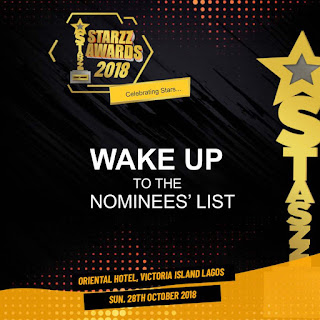 Complete list of Starzz Awards 2018 Nominees