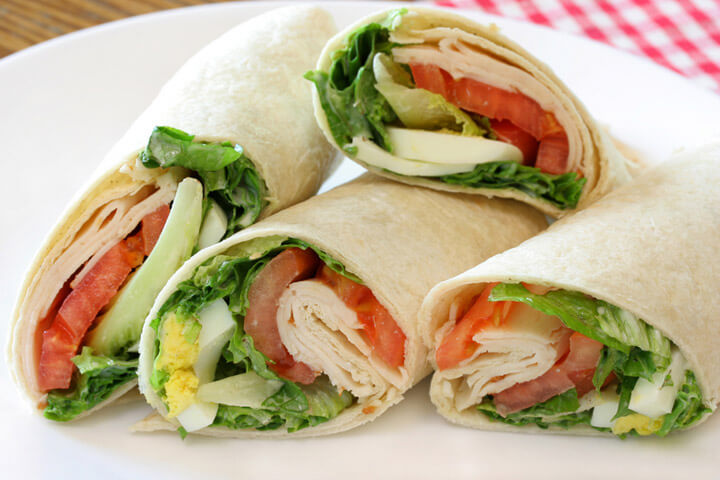 Hinh anh: Sandwich Wrap