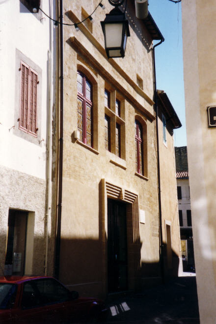 Nostradamuss House At Salon De Provence, Nostradamus