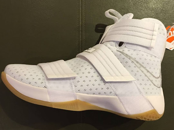Preview Nike LeBron Soldier X 10 in White  Gum