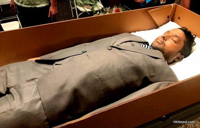कोलोराडोमा प्रहरीको गोलीबाट मृत्यु भएका नेपालीको अन्तिम श्रद्धाञ्जलि…