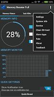 Screenshot of Memory Booster - RAM Optimizer