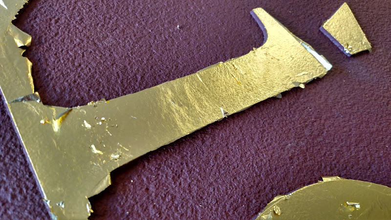 Kiefer Family Orthodontics - Sandblasted Sign with Gold Leaf