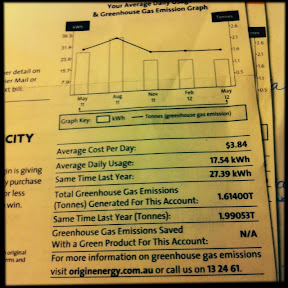 Information is power! Read EVERYTHING on your electricity bill