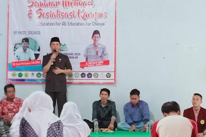Alumni SMAN 1 Cikulur Gelar Seminar Motivasi dan Sosialisasi Kampus
